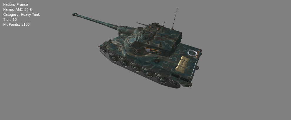 AMX 50B High Definition