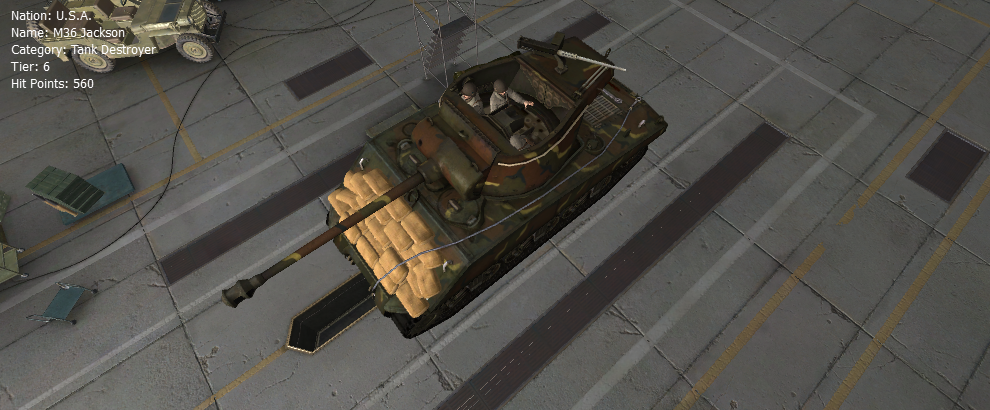 M36 Jackson - Remodel