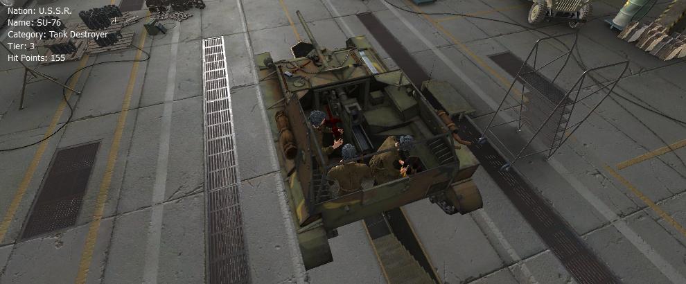 SU-76 - Remodel