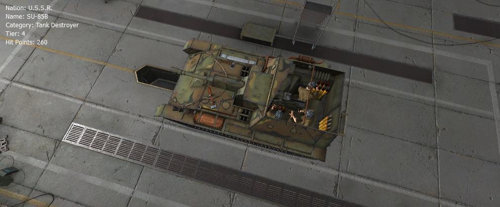 SU-85B - Remodel