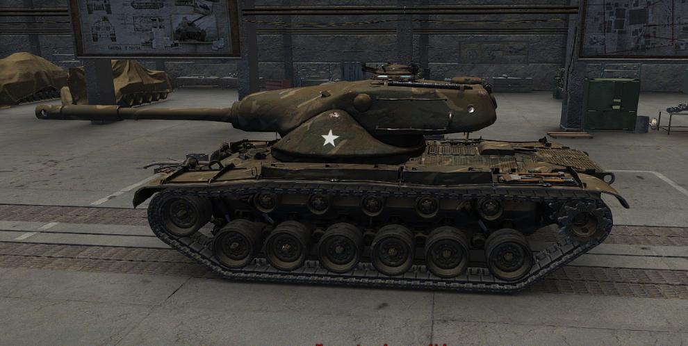 American Medium T54E1 High Definition