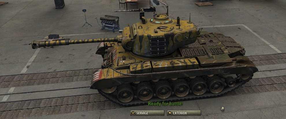 M46 Patton KR Tiger Skin